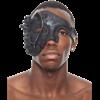 Black Steampunk Terminator Mask