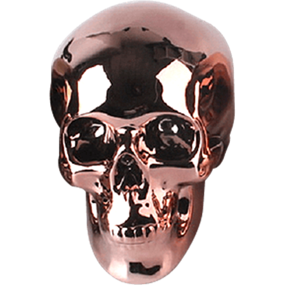 Bronze Skull Money Bank