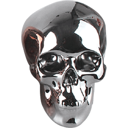 Gunmetal Skull Money Bank