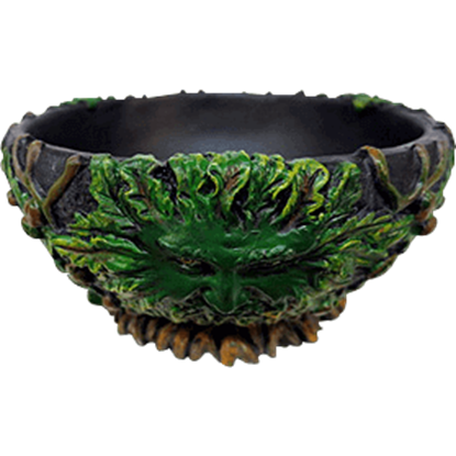 Greenman Scrying Bowl
