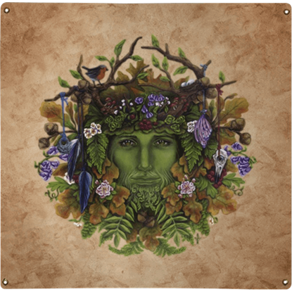 Greenman Metal Sign