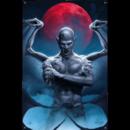 Blood Moon Gothic Fantasy Sign