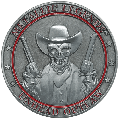 Undead Outlaw Collectible Coin