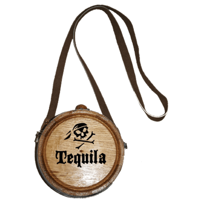 Pirate's Tequila Canteen Barrel