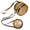 Pirate's Whiskey Canteen Barrel
