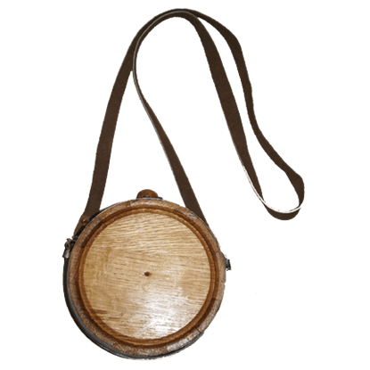 Plain Oak Canteen Barrel