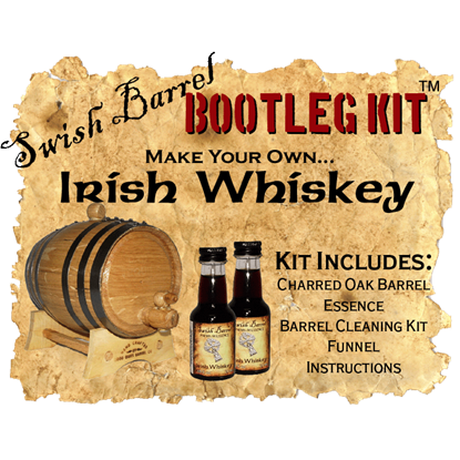 Irish Whiskey Bootleg Kits - 2 Liter