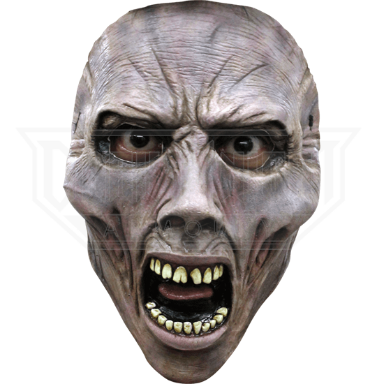 Screaming Zombie WWZ Face Mask