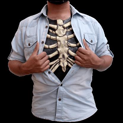 Bone Ribcage Chest Piece