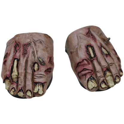 Zombie Flesh Cover Feet