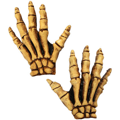 Bones Costume Hands
