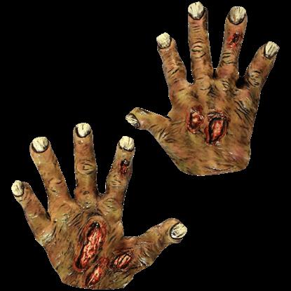 Undead Zombie Costume Hands