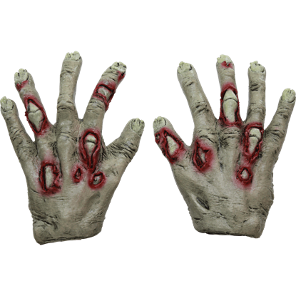 Junior Rotted Zombie Costume Hands