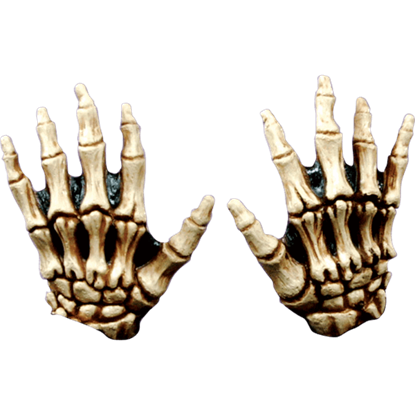 Bone Colored Junior Skeleton Hands