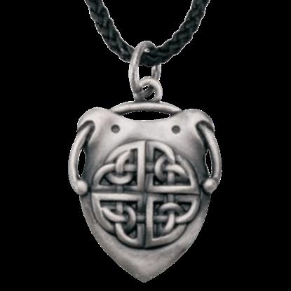Celtic Shield Necklace