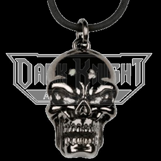 Black Skull Head Necklace