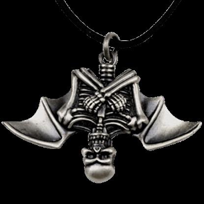 Vampire Skeleton Necklace
