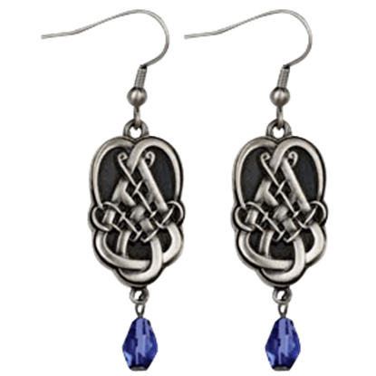 Celtic Tear Drop Earrings
