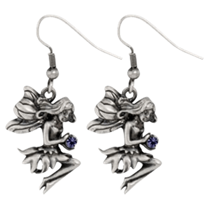 Fairy Seated Earrings