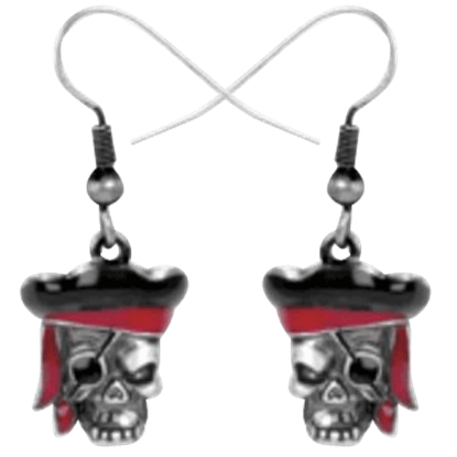 Pirate Captain Earrings