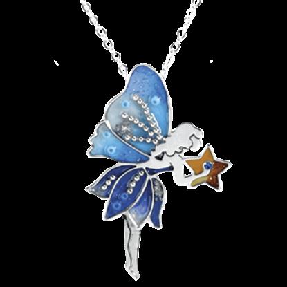 Blue Star Fairy Necklace