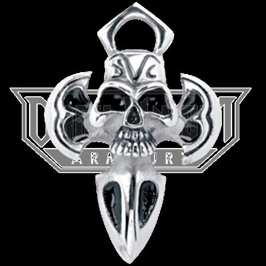 Ancient Skull Dagger Necklace