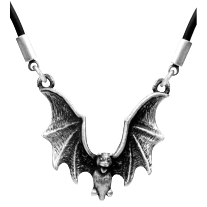 Flying Bat Necklace