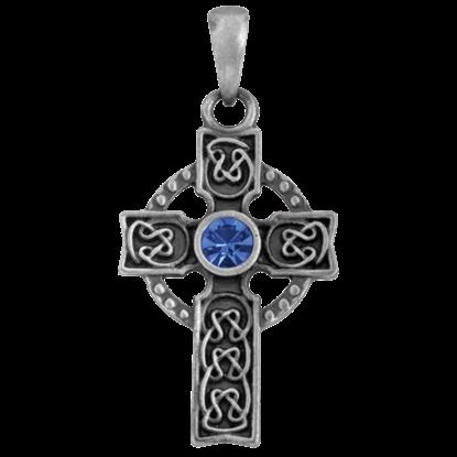 High Celtic Cross Necklace
