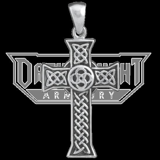 Celtic Cross Knot Necklace