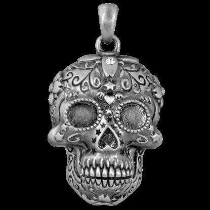 Dead Sugar Skull Necklace