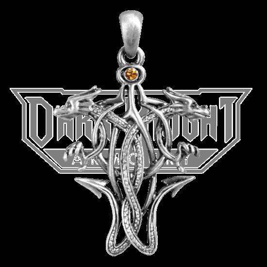 Celtic Dragon Knot Necklace