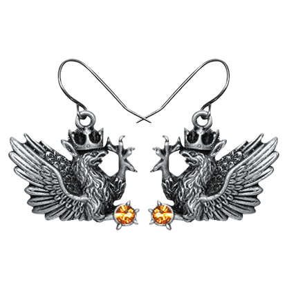 Royal Griffin Earrings