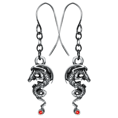 Igneel Dragon Earrings