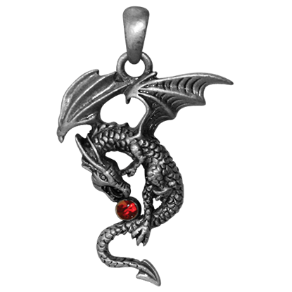 Aithusa Dragon Necklace
