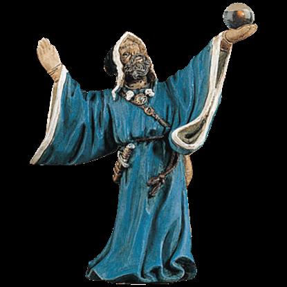 Fortune Teller Wizard Statue