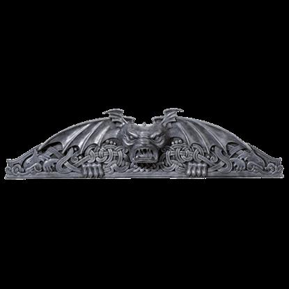 Gargoyle Wall Pediment