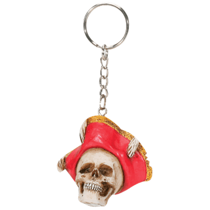 Pirate Hat Key Chain
