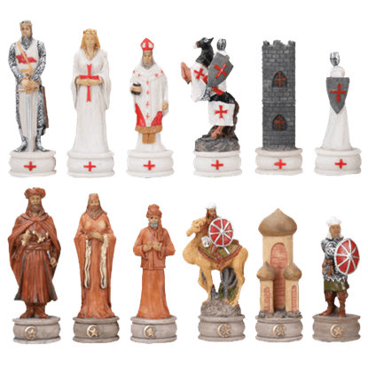 Crusades Chess Set