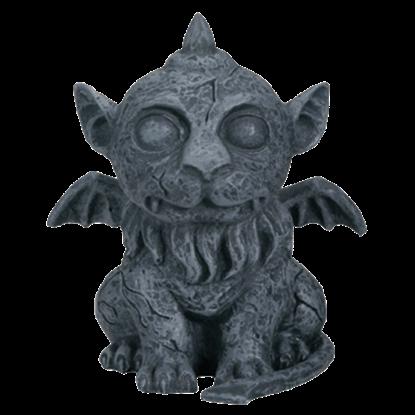Baby Lion Gargoyle Statue