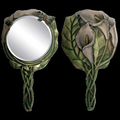 Calla Lily Hand Mirror