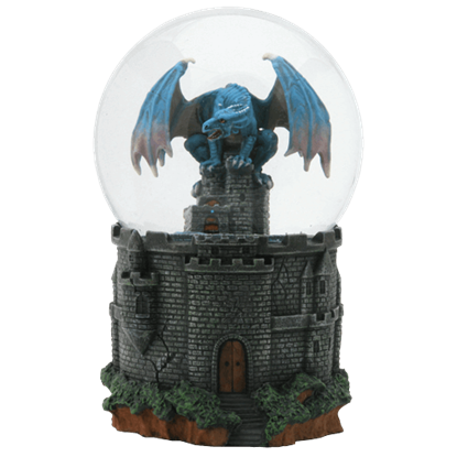 Dragon Castle Water Globe