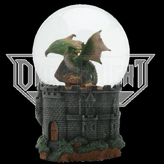 Dragon Treasure Water Globe