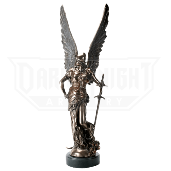 Bronze Winged Victory Statue