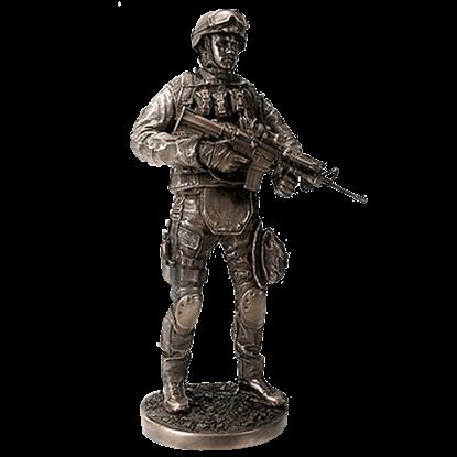 Providing Security Statue
