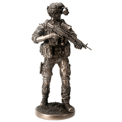 Night Mission Statue