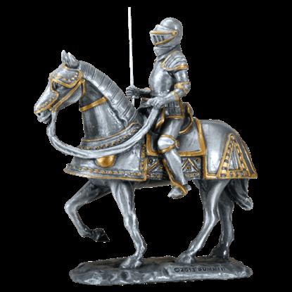 Spanish Knight on Horseback Statue