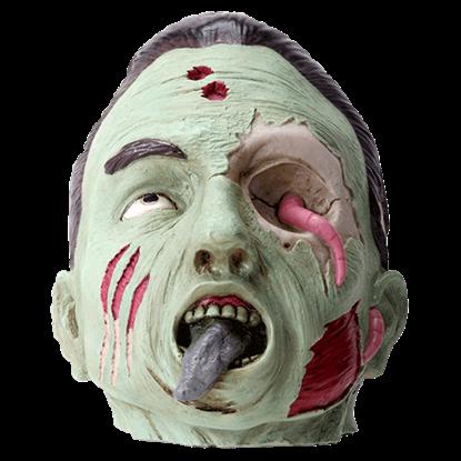 Green Zombie Head