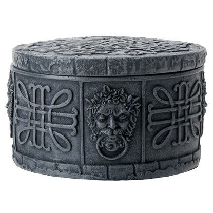 Celtic Greenman Trinket Box