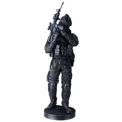 Infantry Soldier Statue