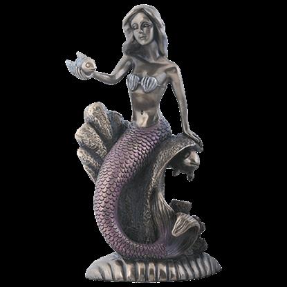Coral Reef Mermaid Statue